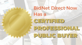 BidNet Direct adds CPPB procurement professional to further improve e-sourcing