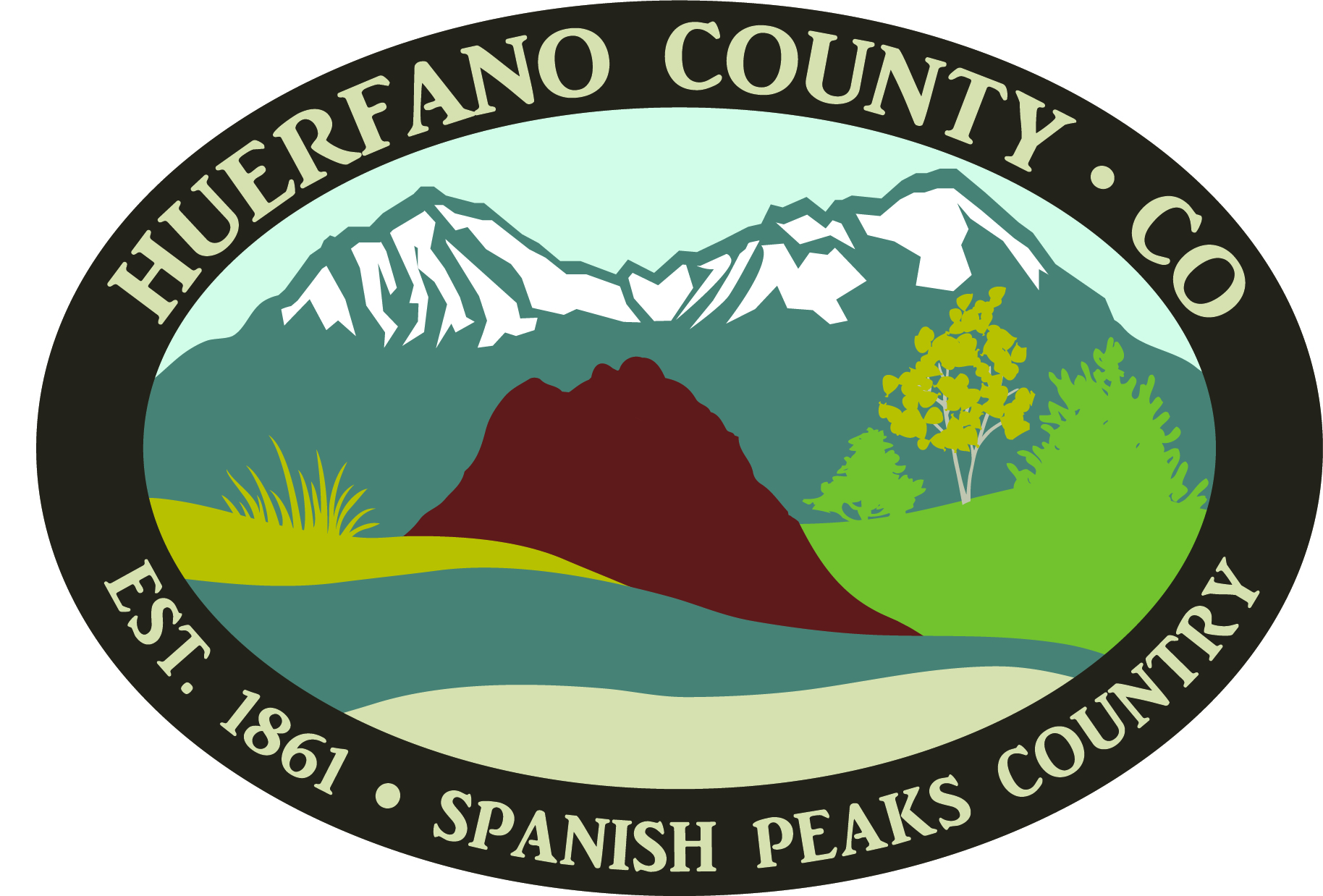 Organization logo of Huerfano County Government